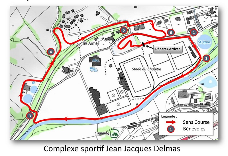 Plan Cyclo-cross Ville de Mende